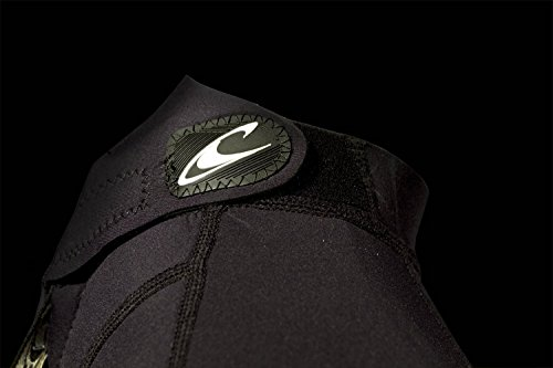 O'Neill Wetsuits Jungen Neoprenanzug youth reactor 3/2 full, Graphite/Tahiti/Black, 12, 3802-BB3 - 4
