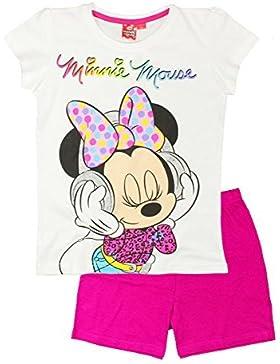 Disney Minnie Mouse corto per bambine a maniche pigiama 2 A 9 anni