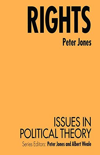 Rights (Issues in Political Theory)
