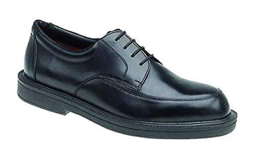 Homme de lHimalaya Executive en cuir Dentelle Chaussures noir