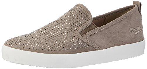 Dockers by Gerli 36ai814-700200, Sneakers Basses Femme Gris (Grau 200)