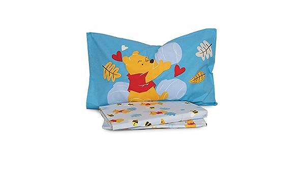 Disney Completo Lenzuola Winnie The Pooh Caleffi Flanella Per Letto Singolo Q216 Azzurro Amazon It Casa E Cucina