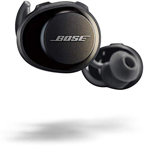 Bose 774373 soundsport free cuffie wireless, bluetooth, nero (triple black)
