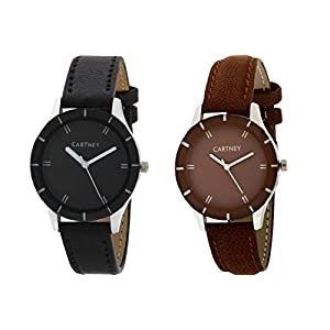Cartney Analogue Wrist Watch for Girls & Women – Pack of 2 Watches – CTY0107