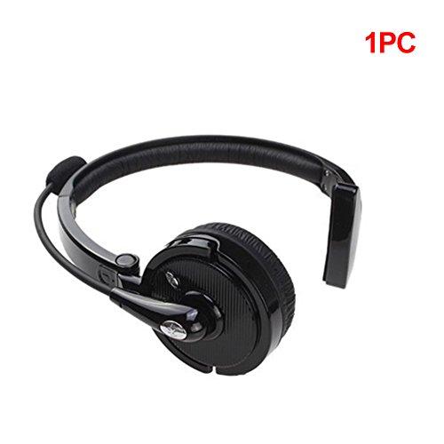 GEZICHTA, Bluetooth-Headset mit Kopfhörer, Freisprecheinrichtung BH-M10B, Mono, kabellos, für Business und Sport, Geräuschunterdrückung, Headset mit Mikrofon Zoom Bluetooth Kopfhörer