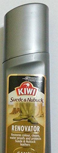 Kiwi Suede and Nubuck Renovator Camel - 75 ml