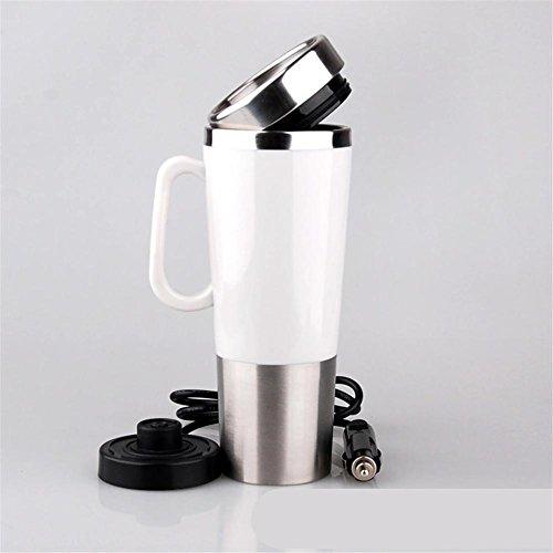 Bouilloire, pour voiture ébullition 12 litres allume cigare Chauffage Mini coupe électrique personnalisée tasse à eau créative , 401-500ml