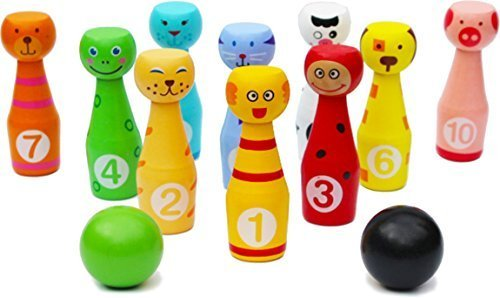 toys-of-wood-oxford-wooden-skittles-set-animal-faces-12-pieces-large-size