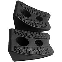 Moliies 2 Teile/Satz Auto Auto Anti-rutsch-Block Gummi Auto Reifen Slip Stopper Steuerung Achsvermessung Block Reifen Unterstützung Pad