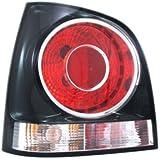 luz trasera, marco color negro, izquierda (lado del conductor)