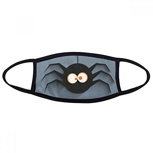 Halloween Insekten Spider Cobweb Illustration Mund Gesicht Anti-Staub Maske Anti kalt warm waschbar Baumwolle Geschenk