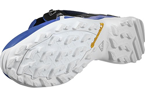 adidas Herren Terrex Swift R2 Mid GTX Trekking-& Wanderstiefel, Schwarz, 50.7 EU blau (Belazu / Negbas / Griuno 000)