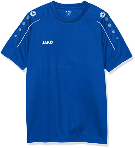 Blaue Trainings T-shirt (JAKO Herren Classico T-Shirt, royal, 4XL)
