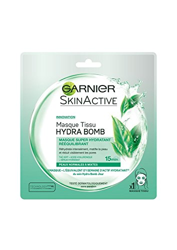 Garnier Skinactive Hydrabomb Masque Tissu