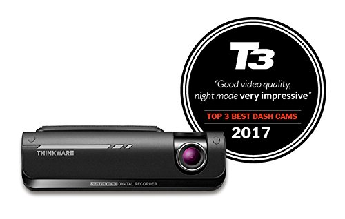Thinkware F770 16GB 1080p Full HD Dashcam with Built in Wi-Fi, GPS, A7 Ambarella CPU, ADAS, Red Light / Speed Camera Warning System, Super Night Vision and Time Lapse