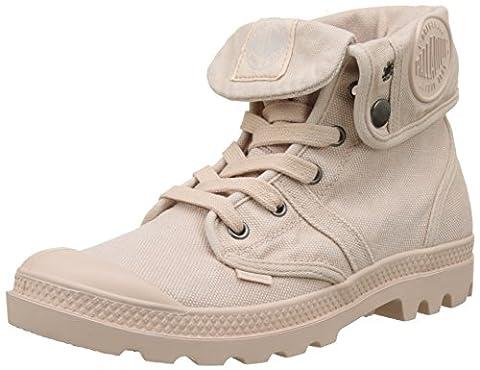 Palladium Pallabrouse Baggy, Hohe Sneakers Femme, Rose (Rose Dust/Silver Birch), 38 EU