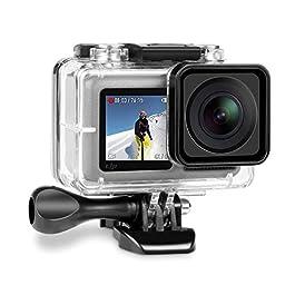 iTrunk Custodia Protettiva Impermeabile per DJI OSMO Action Camera, con Supporto Tripode e Vite di Fissaggio