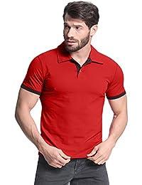 StyleDome Camiseta Hombres Mangas Cortas Algodón Casual Deporte Oficina