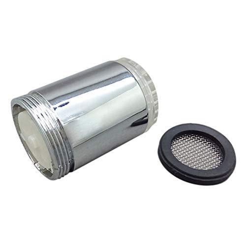 Dicomi LED Licht Temperaturfühler 3 Farbe Küche Badezimmer Wasserhahn Leuchte Silber -