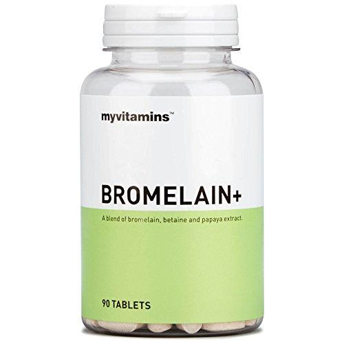 Bromelain+ (30 Tablets) - Myvitamins -