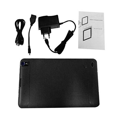 Gugutogo 9 Pollici EU Plug WiFi Tablet 512MB + 8G Pad Anteriore Posteriore 0.3MP Fotocamera Tablet,Nero