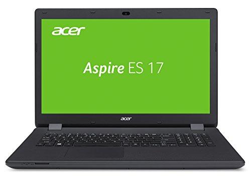 Acer Aspire ES1-731-P8H6 43,94 cm (17,3 Zoll HD+) Notebook (Intel Pentium N3700, 4 GB DDR3L RAM, 500 GB HDD, Intel HD Graphics, Linux) schwarz