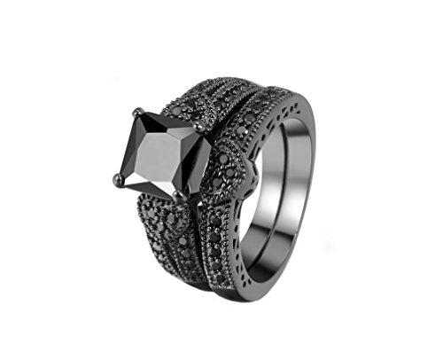 insieme-anelli-di-gioielli-2-anelli-con-motivi-di-cuore-in-bronzo-a-canon-ziricon-cubic-nero-di-alta