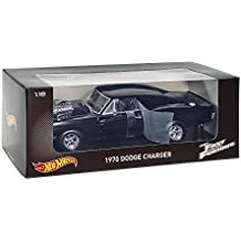 Hot Wheels 1/18 Scale Metal Model - Fast & Furious - Dom's 1970 Dodge Charger by Hot Wheels