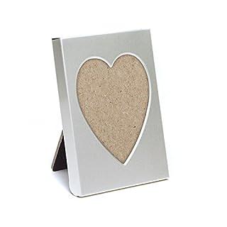 Lywedd® Bilderrahmen Herz 8 Stück Herzbilderrahmen Tischkartenhalter Platzhalter Gastgeschenk