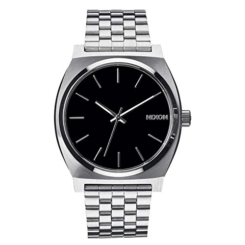 nixon-time-teller-37mm-black-watch-unisex