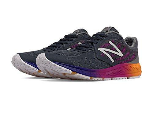 New Balance , Baskets pour femme Noir/orange 37 Noir