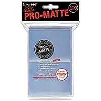 Ultra Pro 84731 Pro Matte Lot de Pochettes pour Cartes Standards Transparent
