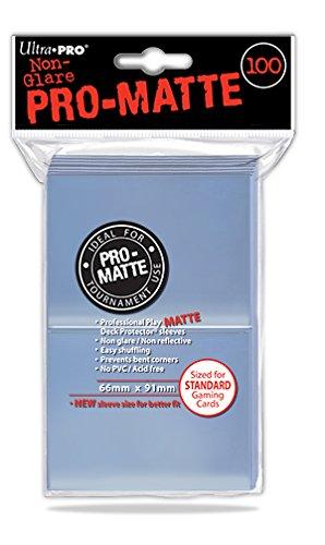 Ultra Pro 84731 - Clear-Matte Sleeves 100, Sammelkarten Zubehör