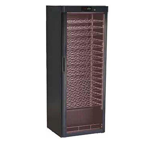 CANTINETTA VETRINA ARMADIO PER VINI REFRIGERATA STATICA TEMP. +5/+18°C DIMENSIONI 600X603X1860 MM