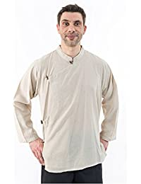 - Chemise tibetaine homme ouverture laterale - M - (36-38)