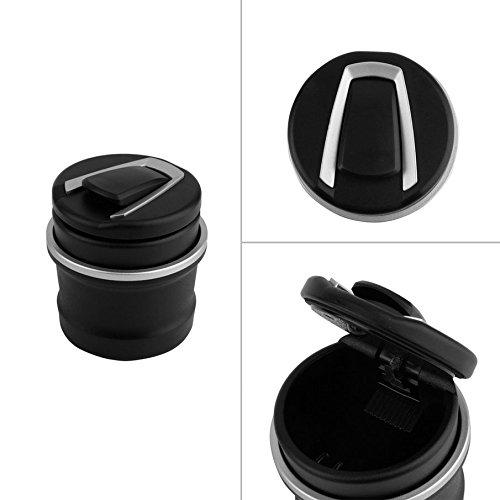 Tocoss (TM) Auto Aschenbecher Aschenbecher Speicher-Cup mit f¨¹r BMW LED 1 3 4 5 7 Series X1 X3 X5 X6 nagelneu ('x6'7)
