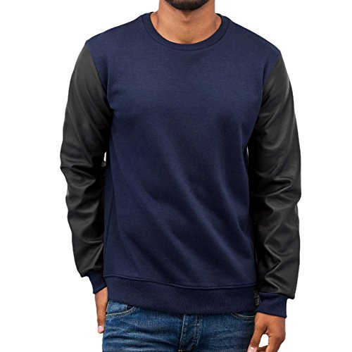 VSCT Clubwear Homme Hauts / Pullover Basic Bleu