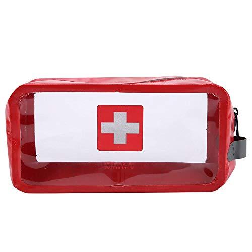 VGEBY1 Medizinische Kits Tasche, Notfall Wasserdichte Erste Hilfe Aufbewahrungstasche Überleben Medic Pouch Make-Up Tasche für Reisen Camping Wandern(Groß) -