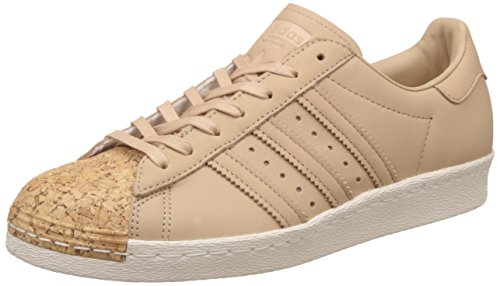 Schuhe Adidas-basketball-superstar (adidas Superstar 80s Cork (Braun) - 40 2/3 EUR · 7 UK)