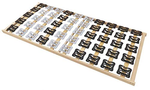 Coemo Das Besondere finden 5 Zonen Tellerlattenrost Lattenrost mit Federleisten und Teller-Elementen 90 x 200 cm