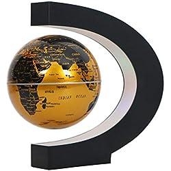 IainStars Levitation Anti Gravity Tellurion LED Magnetic Floating Globe World Map (AU