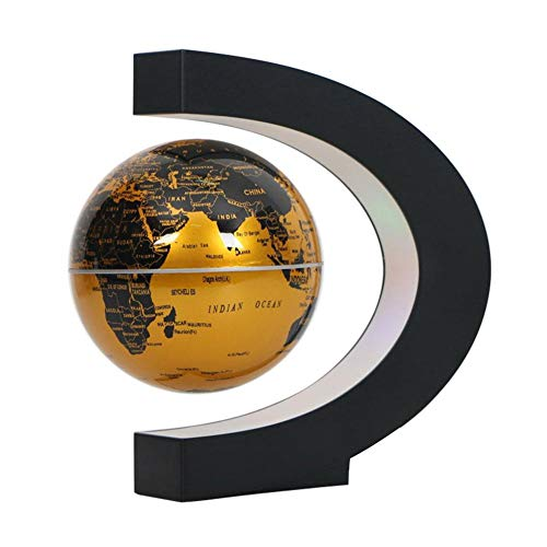 IainStars Levitation Anti Gravity Tellurion LED Magnetic Floating Globe World Map (AU