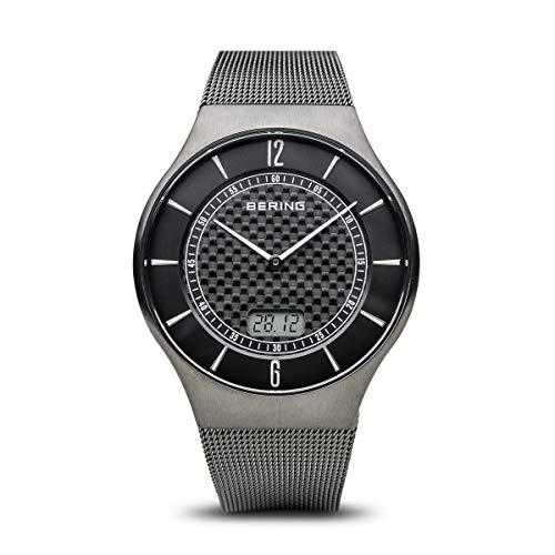 Bering Reloj Analogico-Digital para Hombre de Cuarzo con Correa en Acero Inoxidable 51640-072