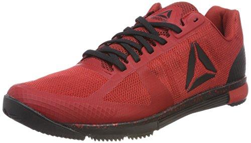 Reebok Herren Crossfit Speed TR 2.0 Fitnessschuhe, Rot (Rich Magma/Black/Primal Red 000), 40.5 EU - Tr, Neue Trainer Schuhe