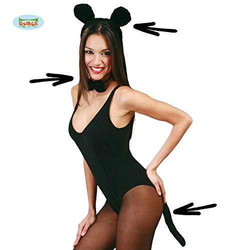 Fiestas Guirca GUI16478 - (Für Kostüm Schwanz Maus Halloween)