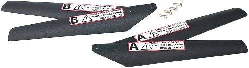Preisvergleich Produktbild Simulus Hubschrauber Ersatzteile: 4-teiliges Ersatzrotoren-Set für Apache-X Hubschrauber NC-1300 (Ferngesteuerter Hubschrauber)