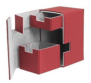 Ultimate Guard FlipŽnŽTray Deck Case 100+ Caja de Cartas Tamaño Estándar XenoSkin Rojo