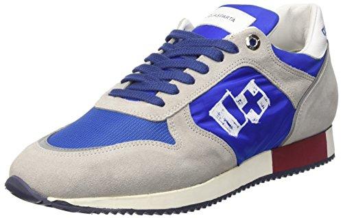 D'Acquasparta Cosimo, Sneakers basses homme Grigio (Perla Bluette)