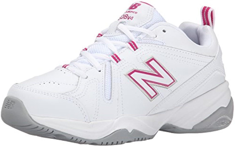 New Balance Balance Balance Wouomo WX608V4 Training scarpe,bianca Light blu,10.5 B US | Prezzo ottimale  | Uomini/Donne Scarpa  b4f831