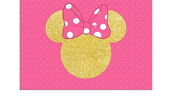 Minnie Maus Hintergrund Für Babyparty 17 8 X 1 5 M Kamera
